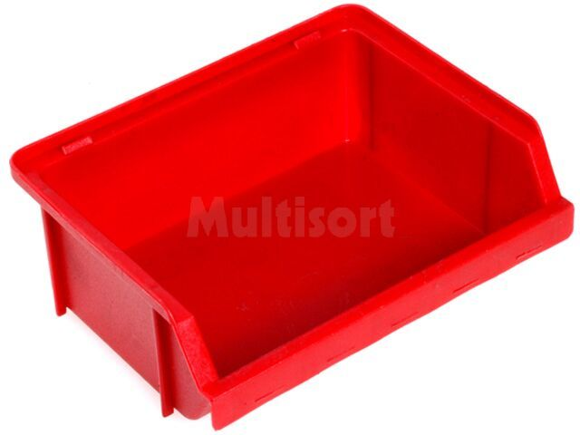 Pojemnik warsztatowy typ P 125x99x50mm czerwony