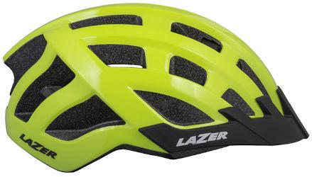 LAZER kask rowerowy sportowy PETIT DLX Flash Yellow Uni BLC2197887193 Rozmiar: 50-56,BLC2197887193