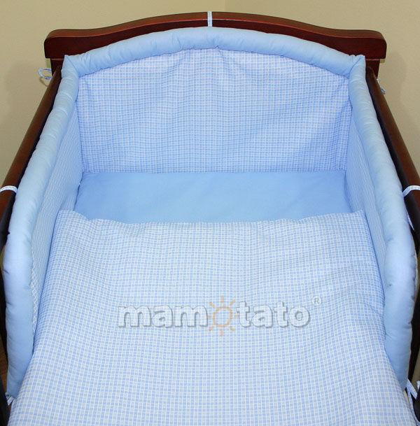 MAMO-TATO Śpiworek niemowlęcy Krateczka błękitna