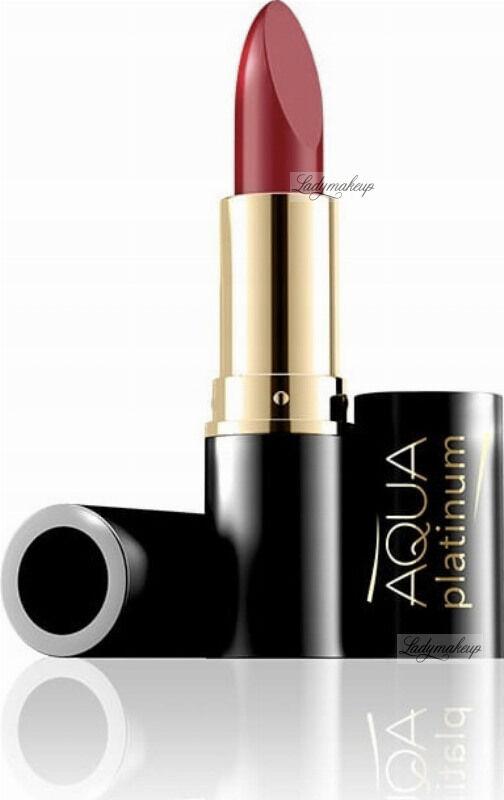EVELINE - Aqua Platinum Lipstick - Ultra nawilżająca pomadka do ust - 486