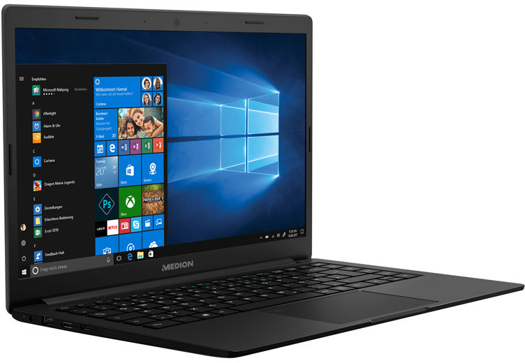 Laptop Medion Akoya E4253 Notebook 14  FULL HD Intel Celeron N4100 8GB 128GB 10 Windows