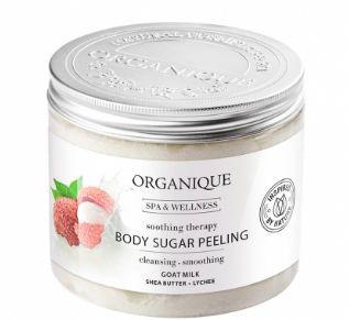MLEKO łagodzący peeling do ciała Organique milk