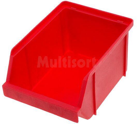 Pojemnik warsztatowy typ P 125x176x99mm czerwony