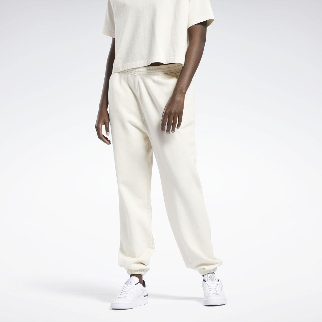 Spodnie dresowe z materiału frotte Reebok Classics Non Dye