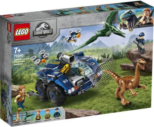 LEGO - JURASSIC WORLD - GALLIMIM I PTERANODON: UCIECZKA - 75940