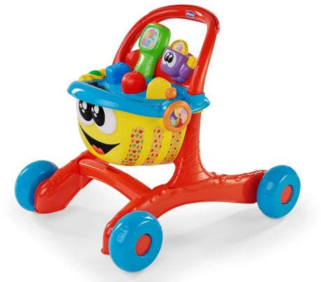 Chicco Pchacz Wesołe Zakupy Chicco Koszyk Zakupowy Zabawka Dwujęzyczna 9m+