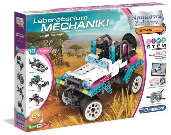 Laboratorium mechaniki - Jeep - Clementoni