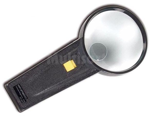 Podświetlana ręczna lupa 3/10 dpt średnica 70mm