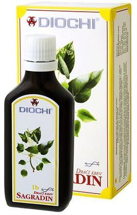 Krople Diochi Sagradin 50 ml - ułatwia trawienie
