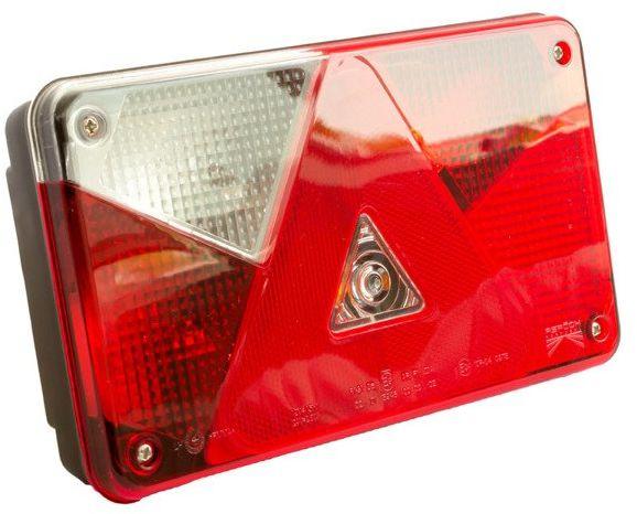 Lampa tylna zespolona do przyczep Asp ck Multipoint V lewa