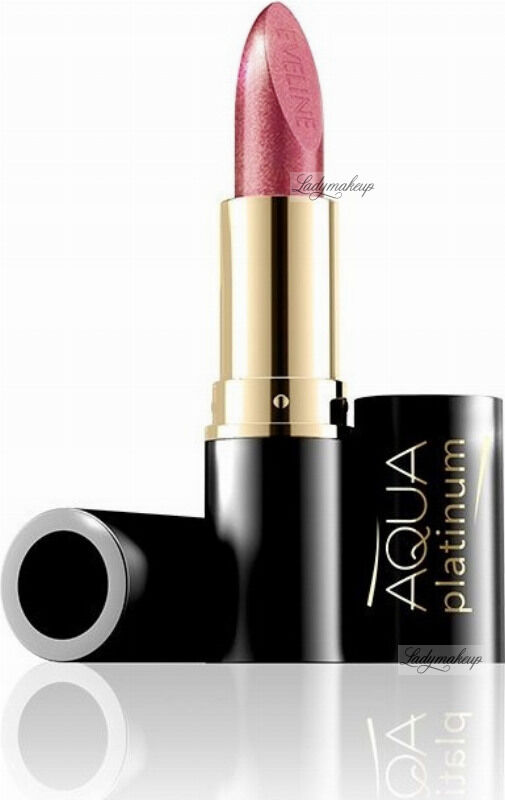 EVELINE - Aqua Platinum Lipstick - Ultra nawilżająca pomadka do ust - 429