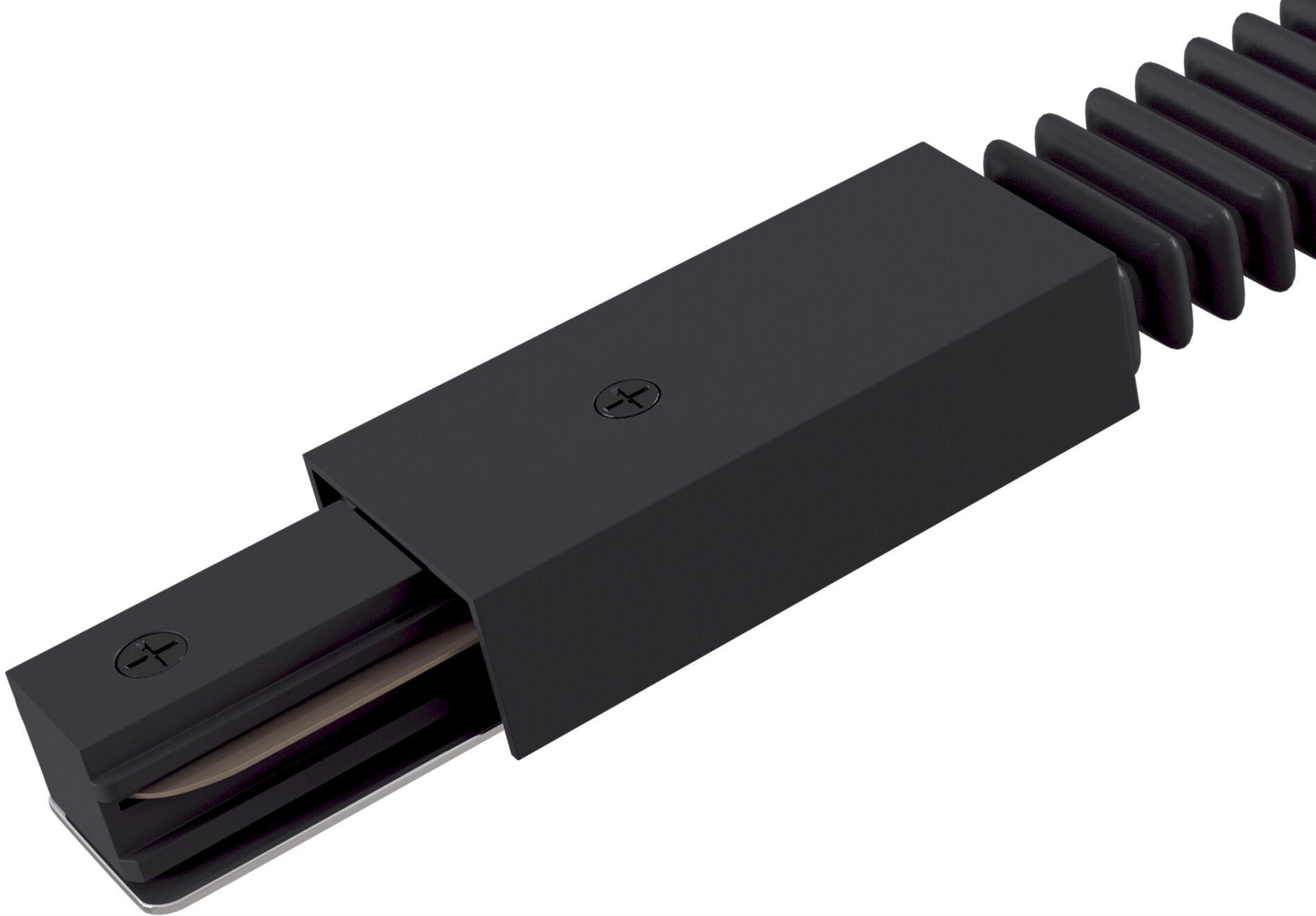 Maytoni Accessories for tracks TRA001CF-11B łącznik giętki do systemu szynowego czarny 28cm