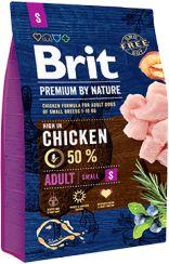 Brit Premium By Nature Chicken Kurczak Adult S 3 kg