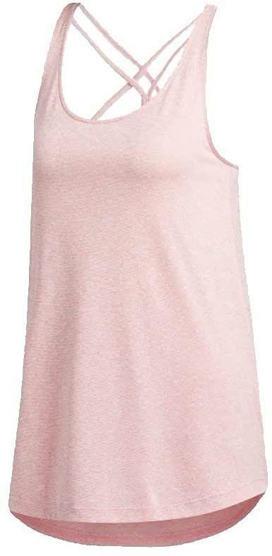 adidas Damski T-shirt Tunic T-shirt damski różowy Sigpnk/White S