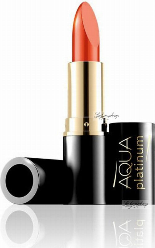 EVELINE - Aqua Platinum Lipstick - Ultra nawilżająca pomadka do ust - 482