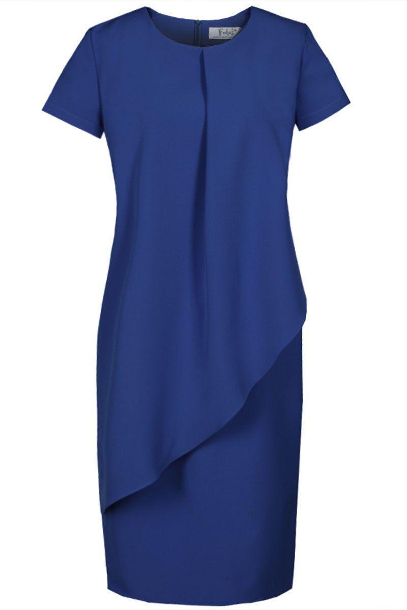 Sukienka FSU782 CHABROWY CIEMNY