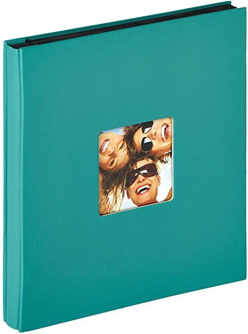 Walther design EA-110-K Fun album do wkładania, na 400 zdjęć w formacie 10 x 15 cm, zielony petrol