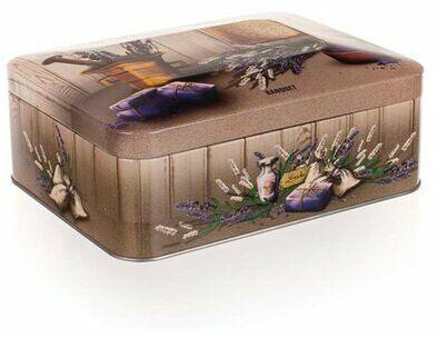 Banquet Lavender blaszane pudełko do herbaty,