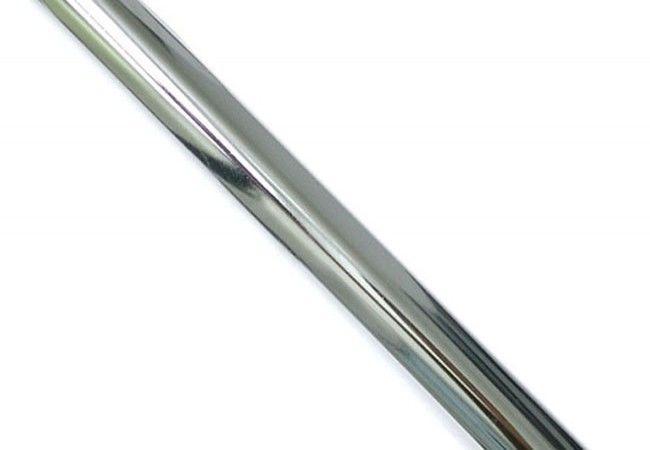 (5) Rura stalowa fi-12 L-3000 mm chrom (do słupka)(421-016)