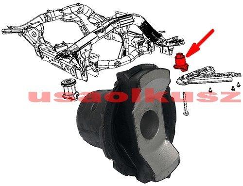 Tuleja kołyski silnika sanek zawieszenia TYLNA Jeep Grand Cherokee 2011-
