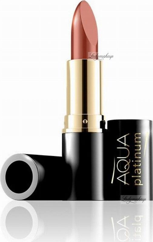EVELINE - Aqua Platinum Lipstick - Ultra nawilżająca pomadka do ust - 478