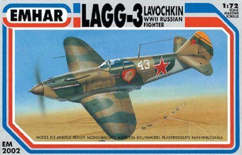 Emhar Models Lavochkin Lagg-3 zestaw do budowy modelu samolotu