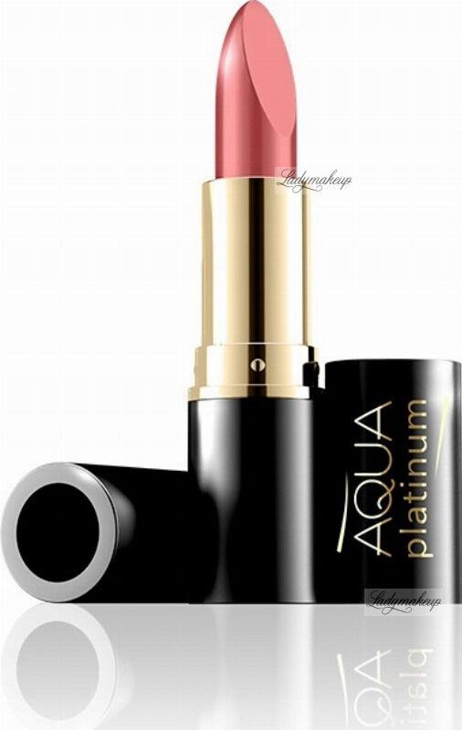 EVELINE - Aqua Platinum Lipstick - Ultra nawilżająca pomadka do ust - 488