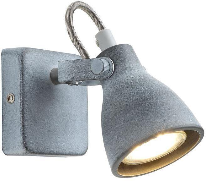 ASH LAMPA KINKIET 1X40W GU10 SZARY MAT