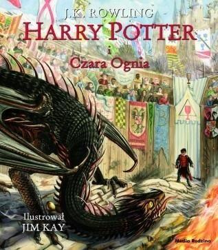 Harry Potter i Czara Ognia ilustrowana ZAKŁADKA DO KSIĄŻEK GRATIS DO KAŻDEGO ZAMÓWIENIA