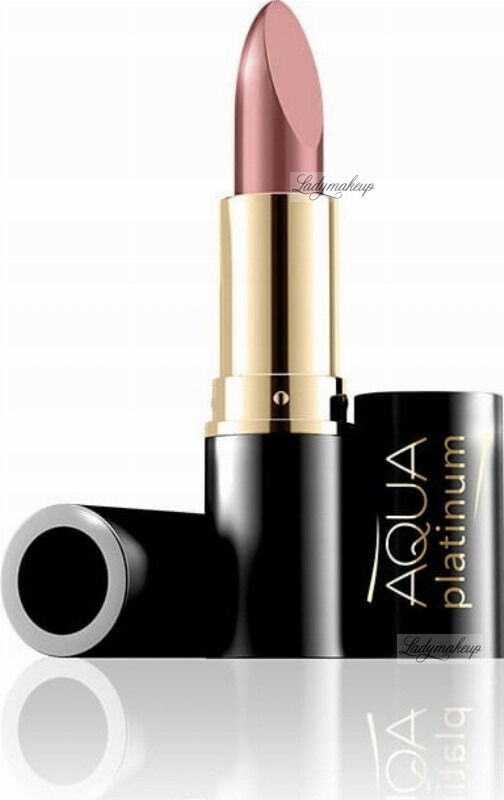 EVELINE - Aqua Platinum Lipstick - Ultra nawilżająca pomadka do ust - 480