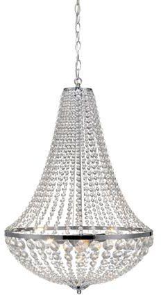 Żyrandol Granso 50cm 105317 Markslojd kryształowa chromowa oprawa wisząca