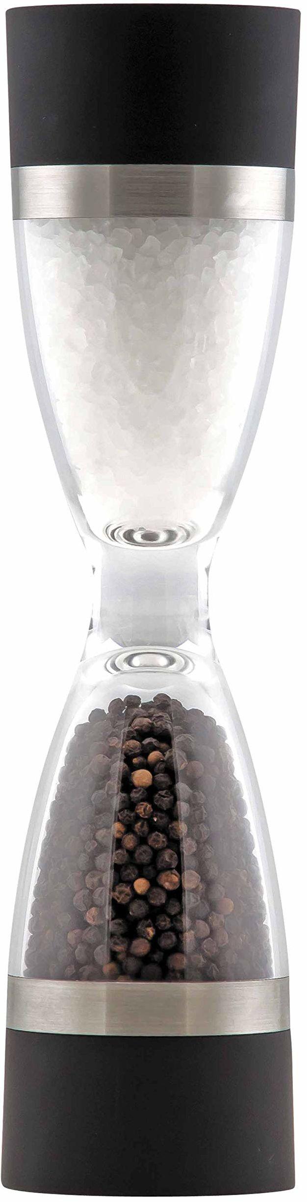 Lacor 62816 podwójny shaker, 30 x 6 x 18 cm, czarny