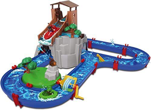 Simba Dickie Vertriebs GmbH 870001547 Aquaplay Adventureland zestaw do zabawy wodnej, kolorowy