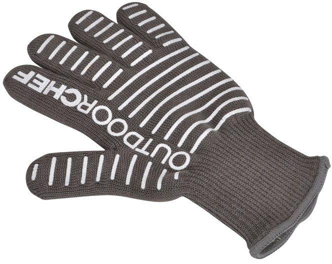 Rękawica do grilla z silikonem firmy OUTDOORCHEF