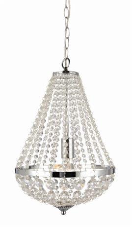 Żyrandol Granso 30cm 104889 Markslojd kryształowa chromowa oprawa wisząca