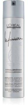 LOréal Professionnel Infinium Pure hypoalergiczny lakier do włosów mocno utrwalający bezzapachowy 300 ml
