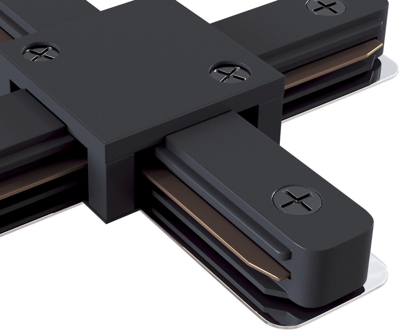 Maytoni Accessories for tracks TRA001CX-11B łącznik X do systemu szynowego czarny 11cm