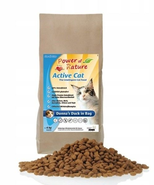 Power of Nature Active Cat Donna''s Duck in bag 2kg