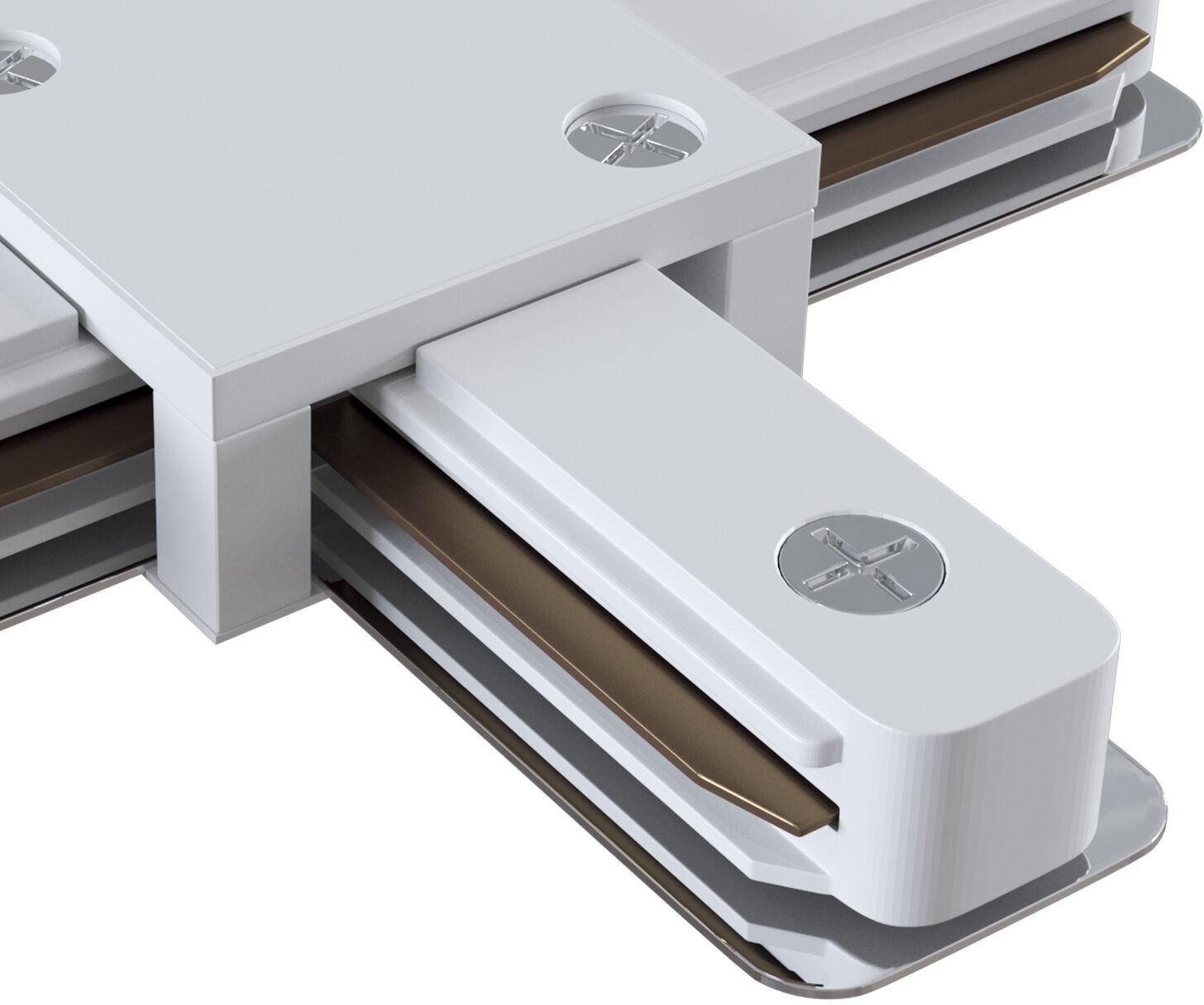 Maytoni Accessories for tracks TRA001CX-11W łącznik X do systemu szynowego biały 11cm