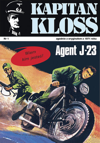 Kapitan Kloss. Agent J-23 (t.1) - Ebook.