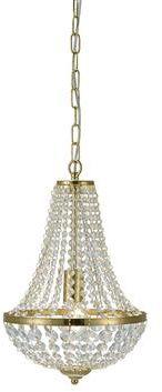 Żyrandol Granso 30cm 106118 Markslojd kryształowa mosiężna oprawa wisząca