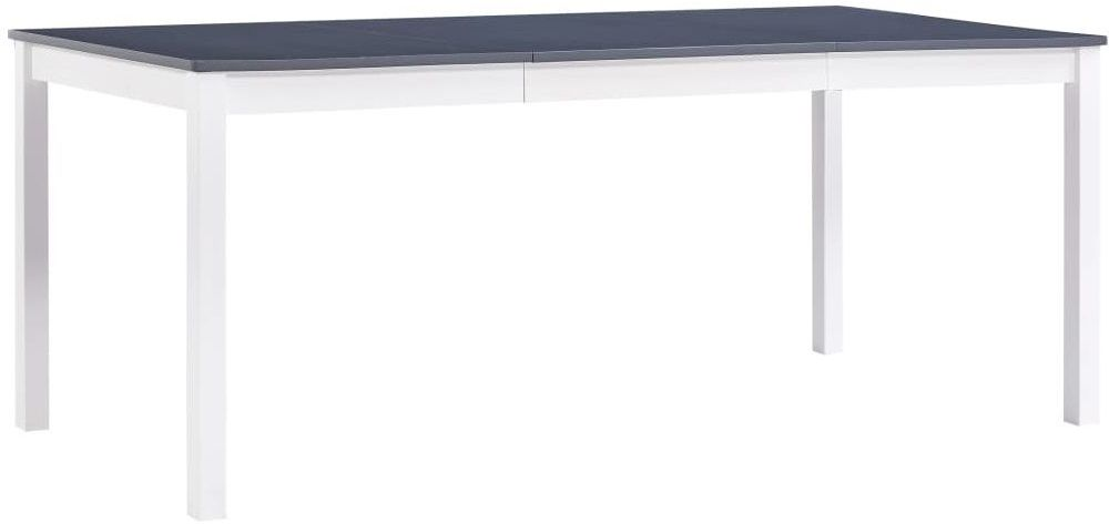 Stół minimalistyczny z sosny Elmor 3X  biało-szary