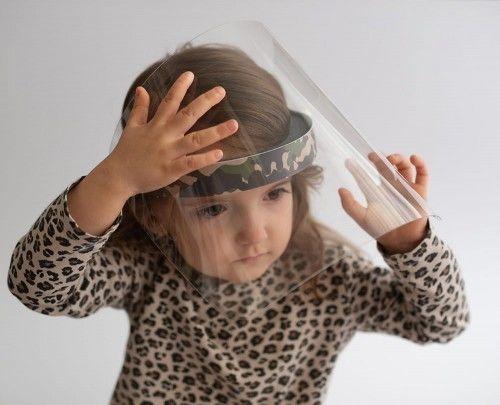 Przyłbica ochronna PRO KIDS (roz. S) - ODCHYLANY FRONT
