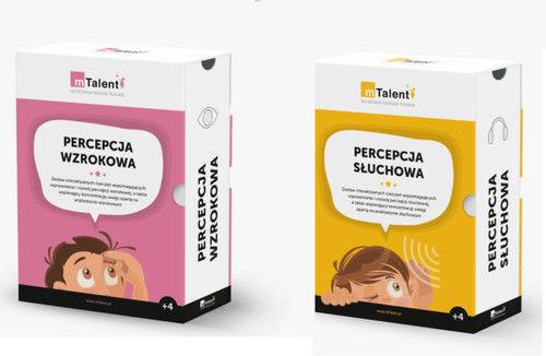 mTalent Pakiet Percepcja wzrokowo-słuchowa