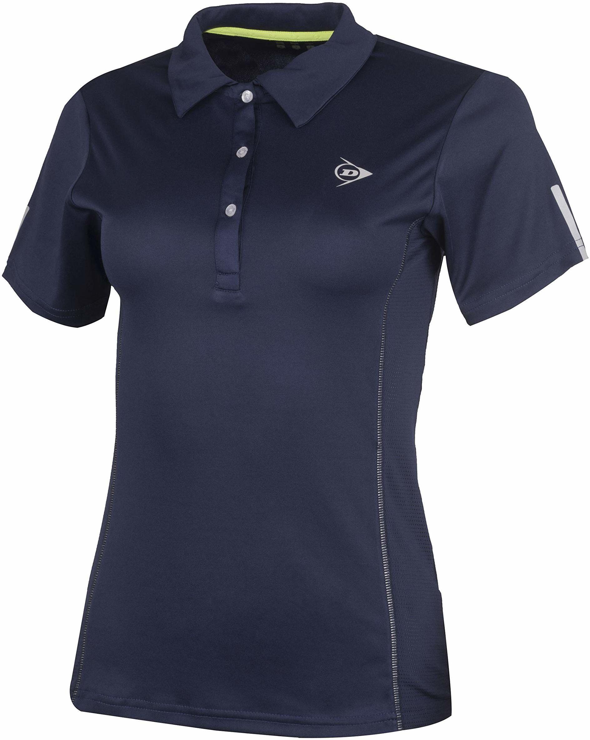 Dunlop Club Line damska koszulka polo niebieski grantowy X-S