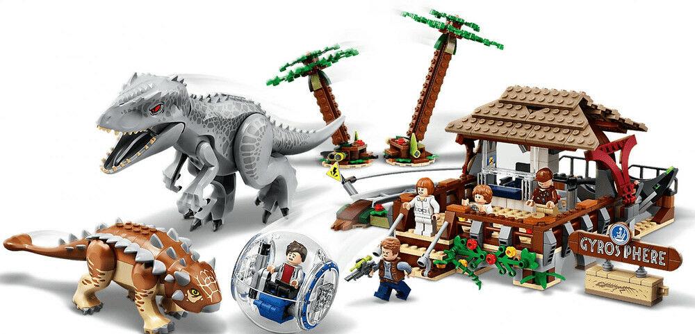 LEGO - JURASSIC WORLD - INDOMINUS REX KONTRA ANKYLOZAUR - 75941