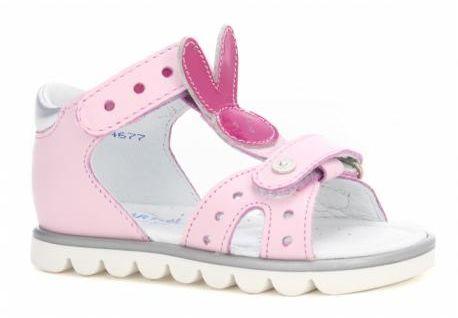 Bartek 31491 1FR sandały dziewczęce króliki różowe