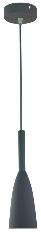 Lampa wisząca Solin szara E27 Light Prestige