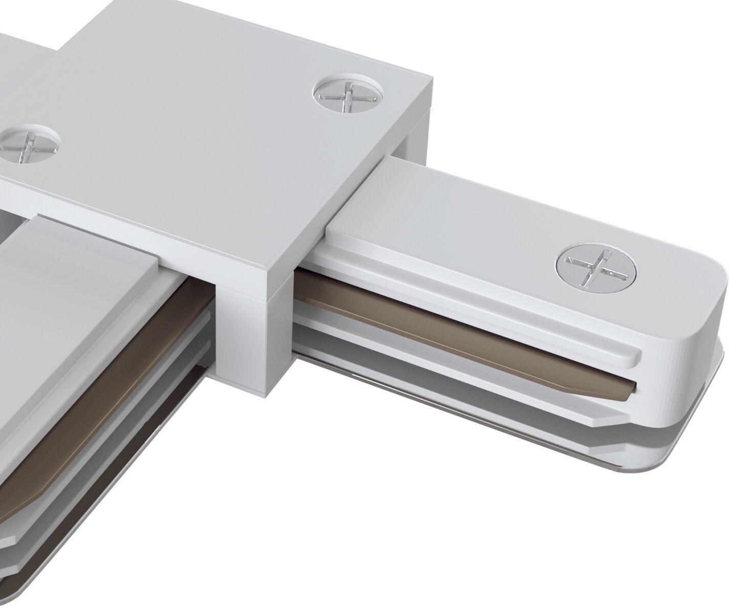 Maytoni Accessories for tracks TRA001CT-11W łącznik T do systemu szynowego biały 10,6cm