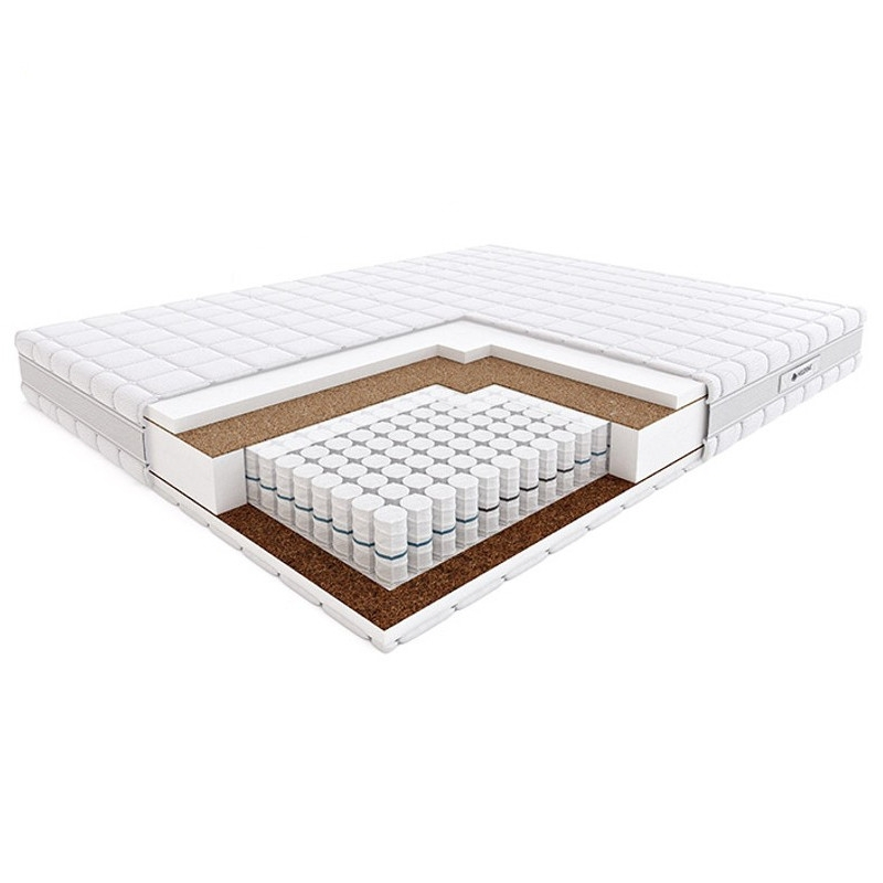 Materac PASODOBLE HILDING kieszeniowy : Rozmiar - 120x200, Pokrowce Hilding - Velvet